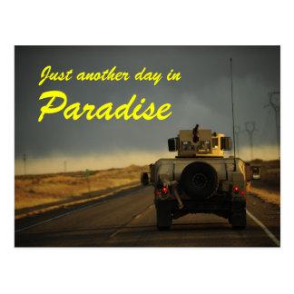 Afghanistan paradise postcard