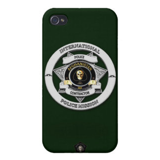 Afghanistan Police Mission Phone Case