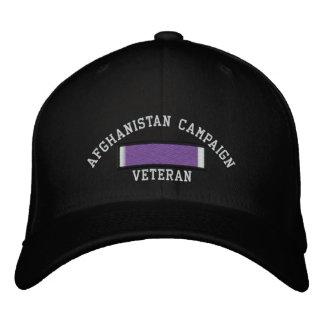 Afghanistan Purple Heart Embroidered Baseball Cap