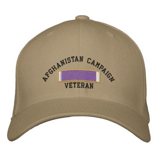 Afghanistan Purple Heart Embroidered Baseball Caps