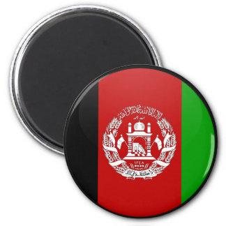 Afghanistan quality Flag Circle Fridge Magnets