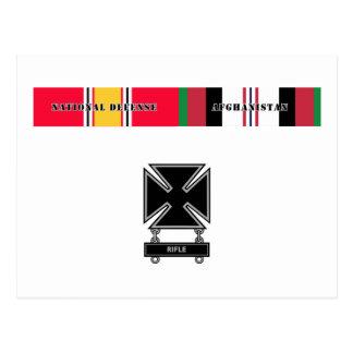 Afghanistan Ribbon Set Postcard