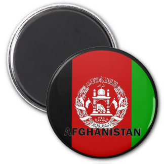 Afghanistan Roundel quality Flag 2 Inch Round Magnet