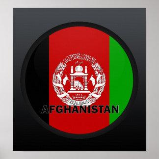 Afghanistan Roundel quality Flag Print