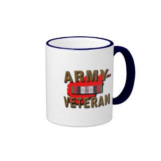 Afghanistan Service Ribbon, ARMY Coffee Mug