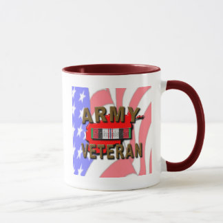 Afghanistan Service Ribbon, ARMY Mug