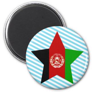 Afghanistan Star Refrigerator Magnet