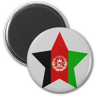 Afghanistan Star Refrigerator Magnets