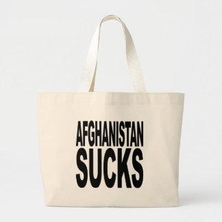 Afghanistan Sucks Tote Bags