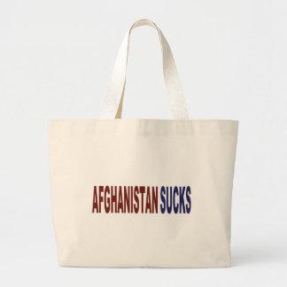 Afghanistan Sucks Canvas Bags