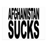 Afghanistan Sucks Postcard