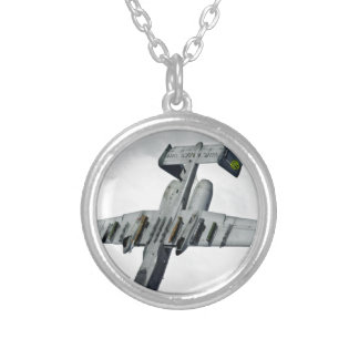 AFGHANISTAN TANK BUSTER HAVE A NICE DAY SILVER PLATED NECKLACE