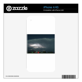 AFGHANISTAN THUNDERSTORM WEATHER SKIN FOR THE iPhone 4