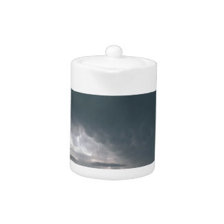 AFGHANISTAN THUNDERSTORM WEATHER TEAPOT