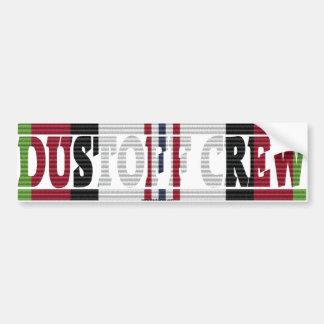 Afghanistan UH-60 Dustoff Crew ACM Sticker