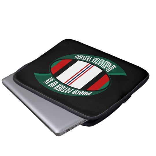 Afghanistan Vet Father Computer Sleeve