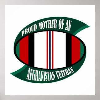 Afghanistan Vet Mother Poster