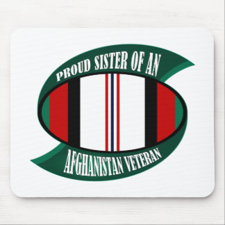 Afghanistan Vet Sister Mouse Pads