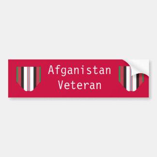 Afghanistan Veteran Bumper Sticker
