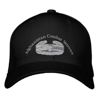 Afghanistan Veteran Combat Action Badge Hat Baseball Cap