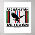 Afghanistan Veteran Eagle 2 Posters