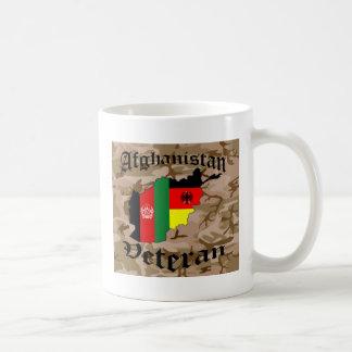 Afghanistan veteran German Coffee Mug