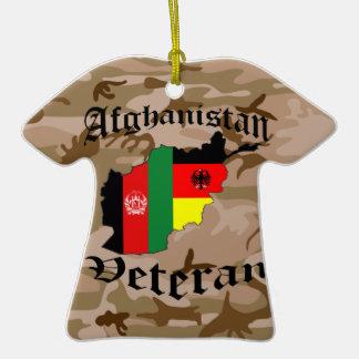 Afghanistan veteran German Ornaments