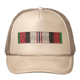 Afghanistan War Service Ribbon Cap Trucker Hat
