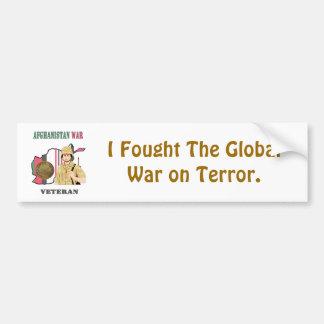 Afghanistan War Veteran Bumper Sticker