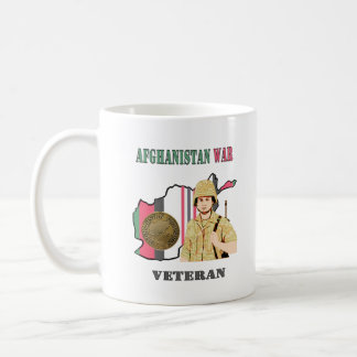 Afghanistan War Veteran Coffee Cup