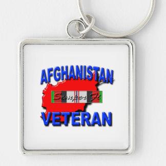 Afghanistan War Veteran Service Ribbon Keychains