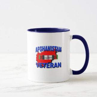 Afghanistan War Veteran Service Ribbon Mug