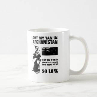 AFGHANISTAN WOUND NZ CONTINGENT COFFEE MUG