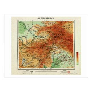AfghanistanPanoramic MapAfghanistan Postcard
