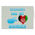 Afghans are my Homies Cards