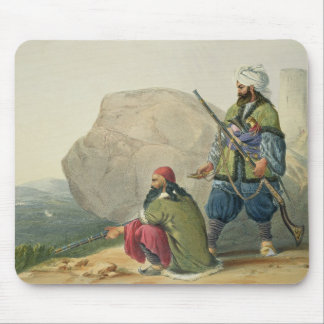 Afghaun Foot Soldiers in their Winter Dress, with Mouse Pad