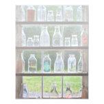 Afición - colector - botellas de leche invitación 10,8 x 13,9 cm