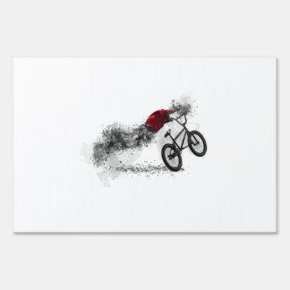 Afición de la bici del deporte señal