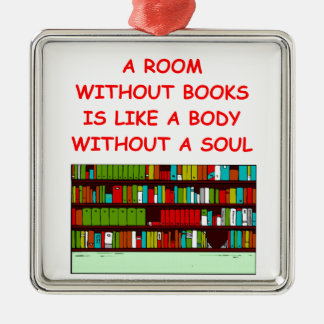 aficionado a los libros adorno para reyes