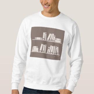 ¡aficionado a los libros! Camiseta Pull Over Sudadera