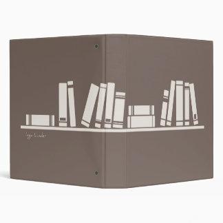 ¡aficionado a los libros! carpeta