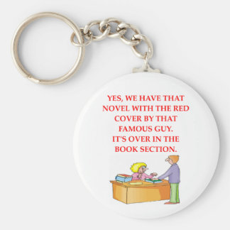 aficionado a los libros llavero redondo tipo pin