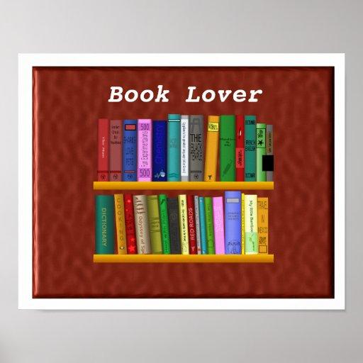 Aficionado a los libros poster