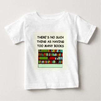 aficionado a los libros remeras