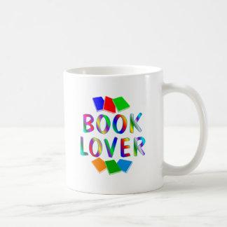 Aficionado a los libros tazas de café