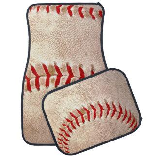 Aficionado al béisbol alfombrilla de auto