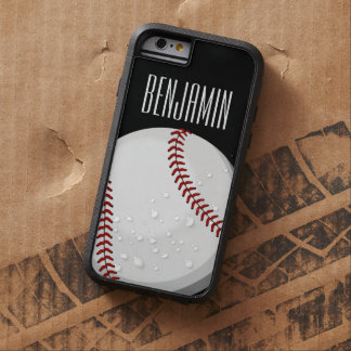 Aficionado al béisbol funda tough xtreme iPhone 6