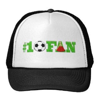 Aficionado al fútbol #1 gorros