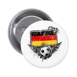 Aficionado al fútbol Alemania Pins