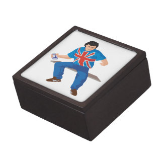 Aficionado al fútbol cajas de joyas de calidad